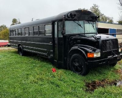 Party bus for sale or make it into whatever you want runs and drives great it's a