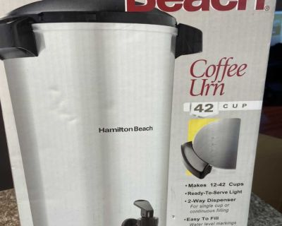 Coffee maker 42 cup / Percolateur cafe 42 tasses