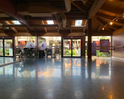 Dance Studio, Sprung Floor, Natural Light, Convenient Parking 3 rooms, Encino, CA