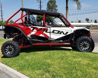 2021 Honda TALON 1000 4 LIVE VALVE SxS Orange, CA