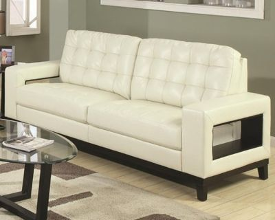 2 Pc Paige Contemporary Sofa and Chair