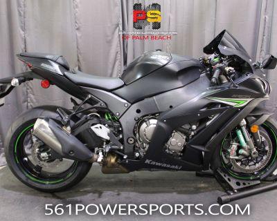 2016 Kawasaki Ninja ZX-10R Supersport Lake Park, FL