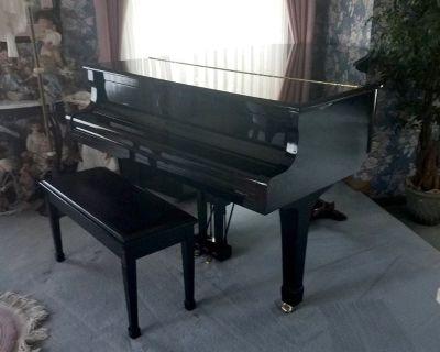 Yamaha baby grand piano C-3 with player mechanism