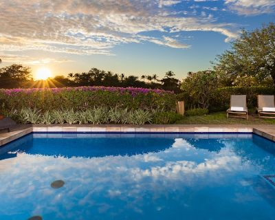 PiH CORAL REEF Heated Private Pool & Spa Large Home with Private Cottage - Puako