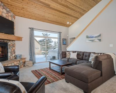 Big Sky Town Center   Ousel Falls Chalet with Private Hot Tub - Big Sky