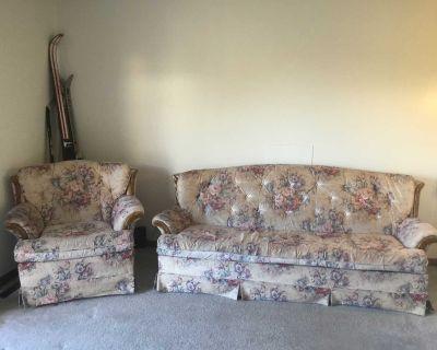 Queen sofa bed set