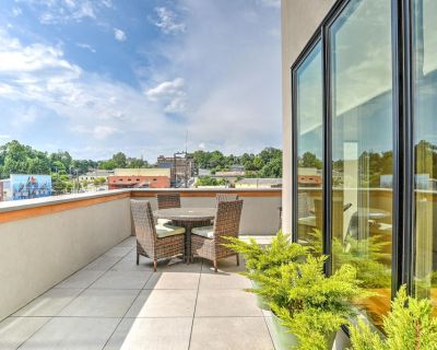 New South Slope Townhome with Private Elevator, Mountain and City Views - Downtown Asheville