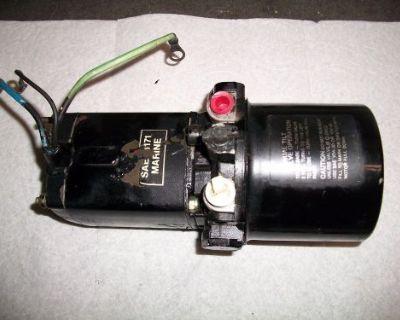Mercury 225 , 275hp Outboard Motor Tilt Trim Pump, Motor & Reservoir Assy
