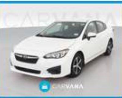 2019 Subaru Impreza White, 32K miles
