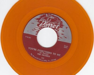 ORCHIDS ~You're Everything To Me*Mint-45*RARE COLOR WAX !