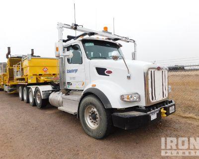 2019 Peterbilt 567 Quad/A Day Cab Truck Tractor