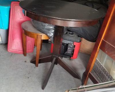 Highball Table dark brown