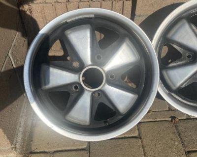 Porsche Fuchs Deep Sixs #901xxxxx {two} Free Shipp