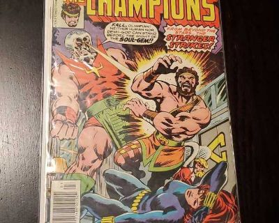 The Champions #12 - overall wear - Marvel Comics