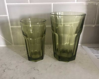 Set of 6 Juice and water size glasses