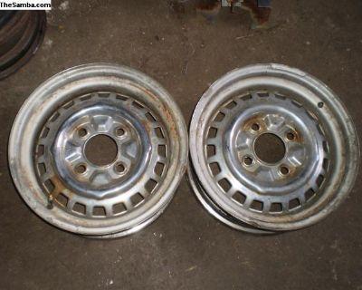 4 lug Brazililan wheel 1973 rim Mangel