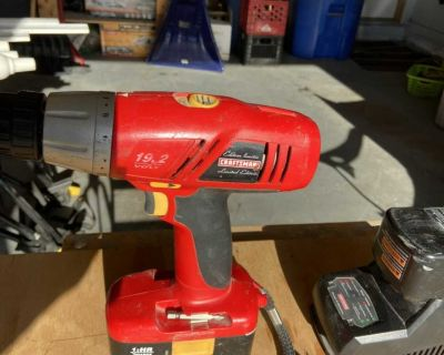 Craftsman Drill and Extra Battery