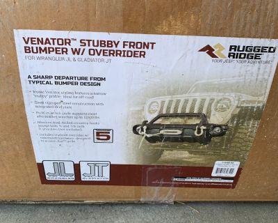 Washington - New. Rugged Ridge Venator Stubby w/ Overrider Bar $600