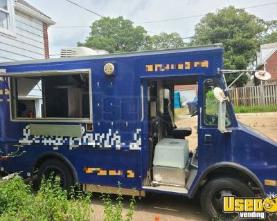 Chevrolet P30 Diesel 19' Step Van Mobile Kitchen Food Truck
