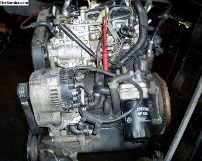VW 1900 Diesel Engine: Used from Germany Rabbit PU