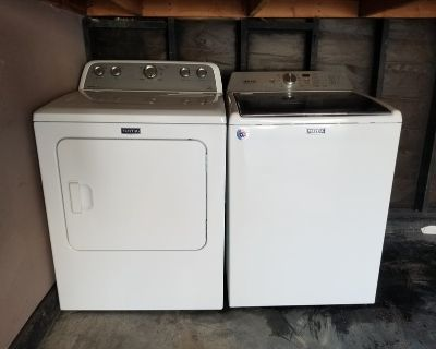 GREAT DEAL on Washer and Electric Dryer!!! Must go! (Still under warranty!!)