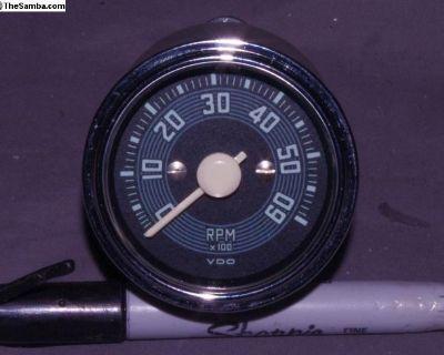 Miniaturized Repro 52mm 12V VDO Tachometer Tach