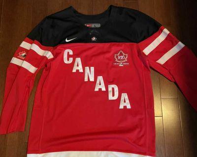 Nike Team Canada centennial jersey