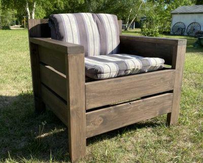 Handmade Patio Chair