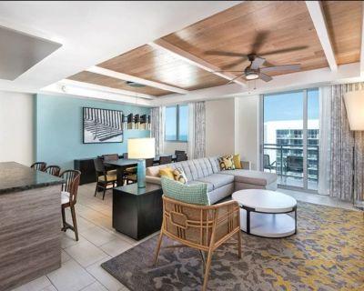 Stunning Presidential Reserve 4 bedroom suite on Wyndham Resort ! - Clearwater Beach