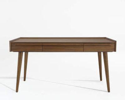 "Crate and Barrel - Tate 60"" Mid-Cen Walnut Desk ($800 value)"