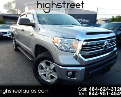 Used 2017 Toyota Tundra 4WD TRD Pro CrewMax 5.5' Bed 5.7L (Natl)