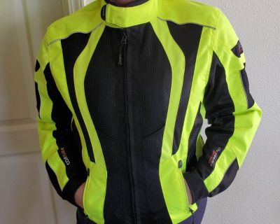 Olympia Airglide 5 Jacket Neon Yellow Size M