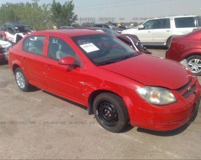 Salvage Red 2009 Chevrolet Cobalt