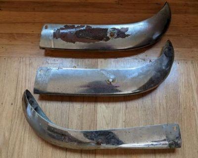 Original Karmann Ghia Bumper Blades Front Back