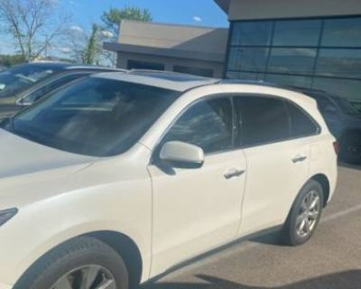 2014 Acura MDX Advance with Entertainment Package