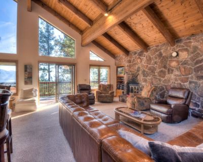 Inclined Homestead - Rustic Tahoe view, TV room, Snow sleds, 8 min drive to Diam - Incline Village