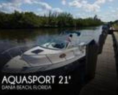 21 foot Aquasport 21