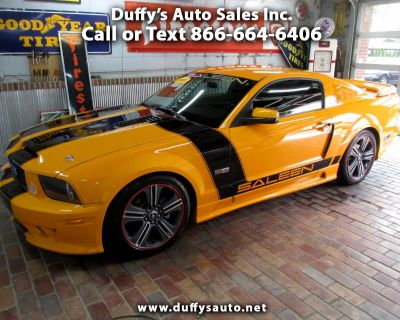 Used 2008 Ford Mustang 2dr Cpe Saleen Clone GT Deluxe