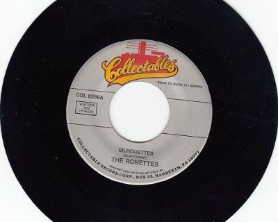 RONETTES ~ Silhouettes*Mint-45 !