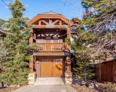 Luxurious home w/ private hot tub, steps from Park City lifts! - Downtown Park City
