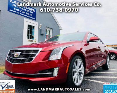 2017 Cadillac ATS Sedan 4dr Sdn 3.6L Premium Luxury AWD