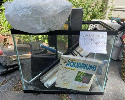 10 Gallon Aquarium setup