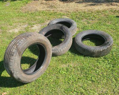 Hardly used tires