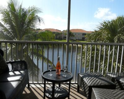 Luxurious Waterview Condo/Fully Furnished/ 3 Bdrm, 2 Bath/Close to Beaches - Bonita Springs