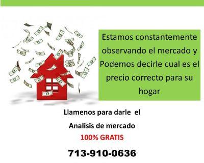 Sabe el valor de su casa?