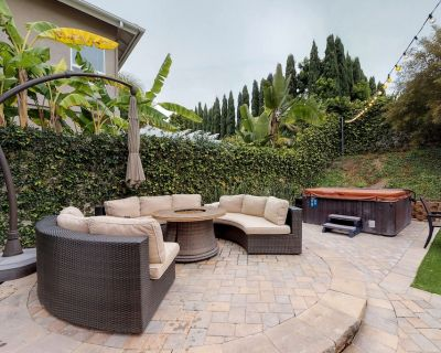 Dog-friendly home w/ hot tub, firepit, pool table & more - close to the beach! - Carlsbad