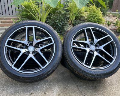 21 GLE43 AMG OEM Wheels & Tires