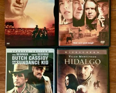 "2 DVDs - ""Great WESTERNS"" at 1 GREAT Price!"