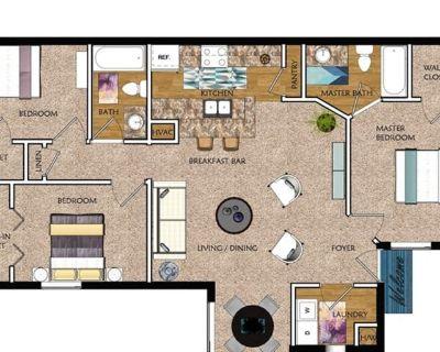 Private room with shared bathroom - Jonesboro , GA 30281