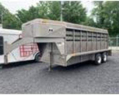 1991 Coose 20' Livestock Trailer Stock